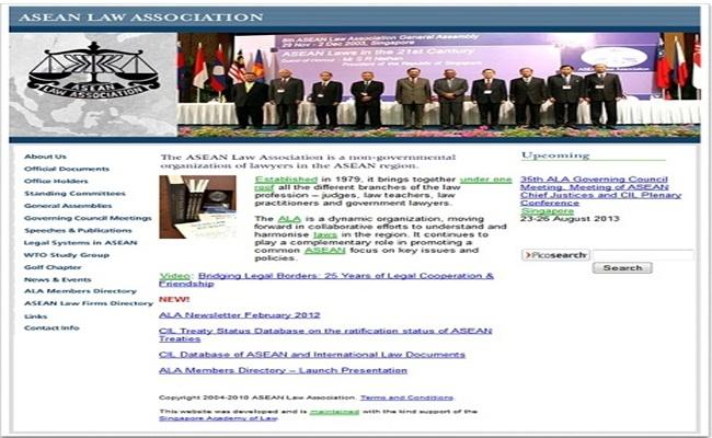 ASEAN Law Association aseanlawassociation.org  - ASEAN Law Association, Teramat Sayang Untuk Terlewatkan