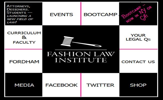Fashion Law Institute fashionlawinstitute.com  - Pendidikan Hukum Untuk Kebutuhan Industri Busana