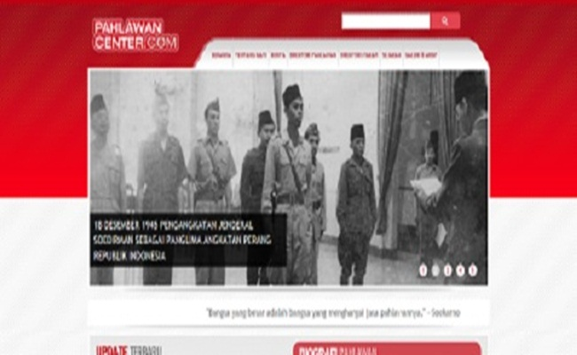 pahlawancenter.com pahlawancenter.com  - [Indonesia] Pahlawan Center Menghantar Informasi Kepahlawanan