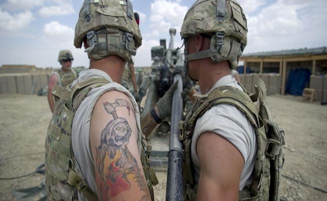 arm tattoo armytimes - Perubahan Peraturan Pemakaian Tato di US Army