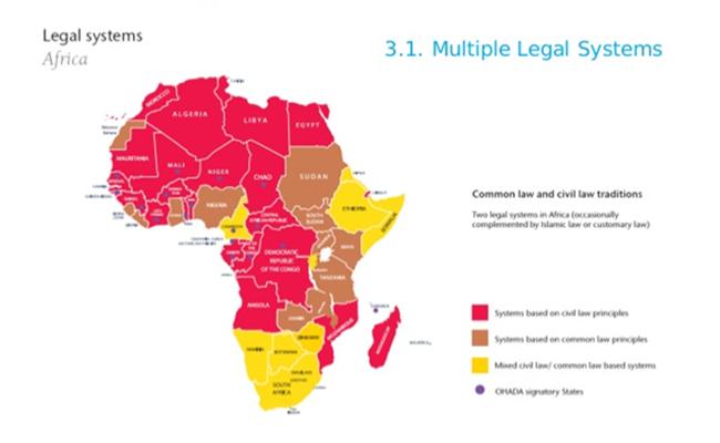 Pemetaan sistem hukum di Afrika Eversheds Boris Martor - Jejak Langkah Firma Hukum Internasional di Benua Afrika