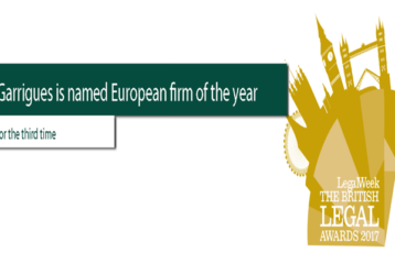 garrgues.com arsip 358x239 - Daftar Pemenang British Legal Awards 2017