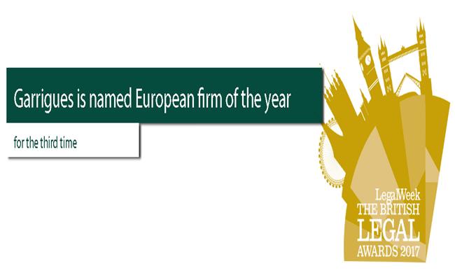 garrgues.com arsip - Daftar Pemenang British Legal Awards 2017