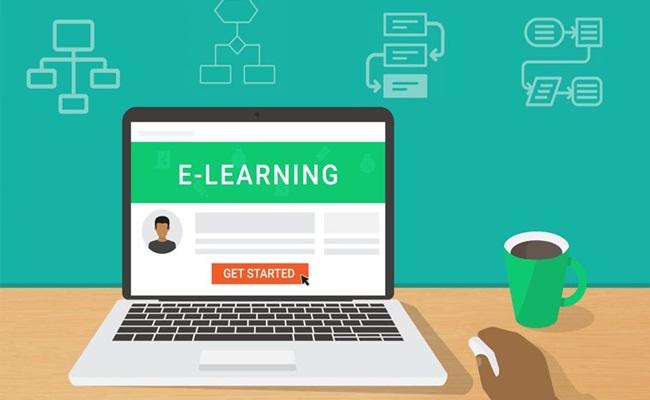 ilustrasi pembelajaran online elearningindustry.com  - Ini 6 Cara Studi Hukum Online Untuk Mahasiswa di Amerika Serikat