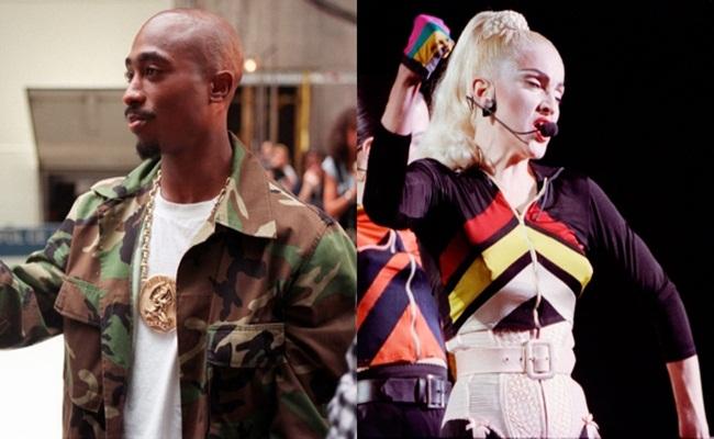 Tupac Shakur dan Madonna ctvnews.ca via AP - Madonna Kalah di Sidang Untuk Kepemilikan Surat Putus Cinta Dari Tupac Shakur