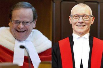 Canadian Supreme Court Justice Thomas Cromwell kiri Nova Scotia Justice Anne Derrick kanan Herald composite 358x239 - Hakim dan Ahli Hukum Berdiskusi Tentang Permasalahan Penjara Di Dal Conference