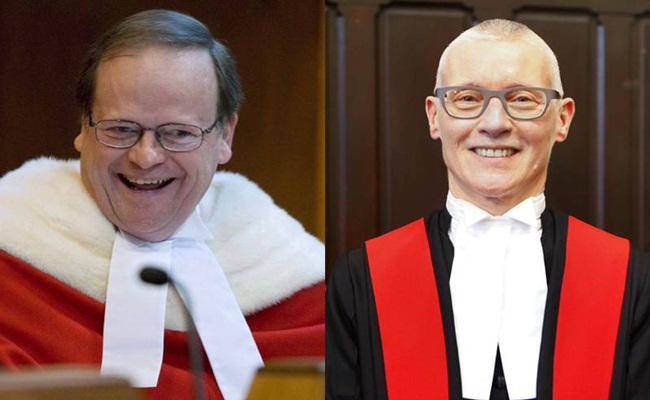 Canadian Supreme Court Justice Thomas Cromwell kiri Nova Scotia Justice Anne Derrick kanan Herald composite - Hakim dan Ahli Hukum Berdiskusi Tentang Permasalahan Penjara Di Dal Conference