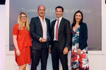 Pengacara dari law firm Kikland Ellis tengah law.com  358x239 - Pemenang The Transatlantic Legal Awards 2018