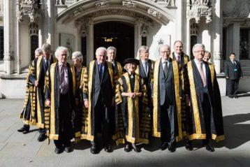 UK Supreme court judges termasuk Lady Arden and Lord Kitchin theguardian.com Wiktor Szymanowicz Barcroft Images 358x239 - Mahkamah Agung Inggris Menyumpah Dua Hakim Agung Baru